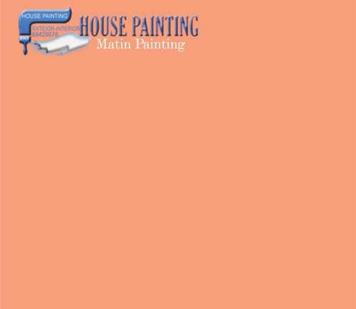 ترکیب رنگ نارنجی ساختمان