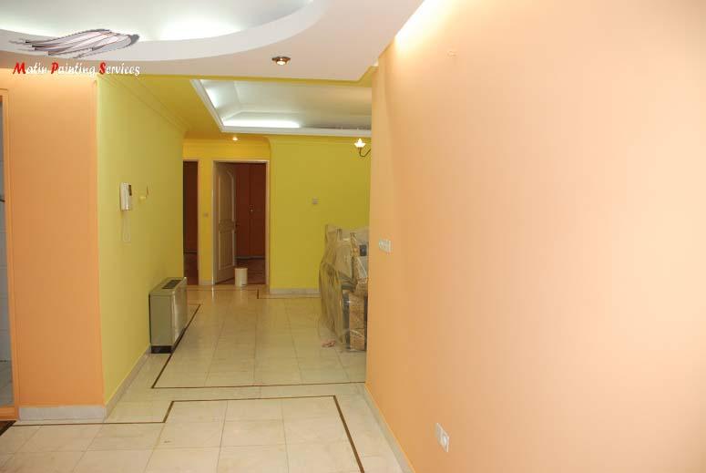 هزینه رنگ آمیزی آپارتمان 170 متری